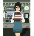 Women readers vector image vector image