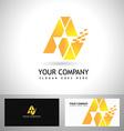 A Letter Logo Design vector image