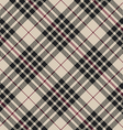 Blackberry tartan seamless diagonal pattern vector image vector image