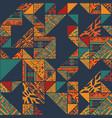 boho abstarct wallpaper vector image vector image