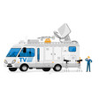 broadcast bus isolated broadcasting communication vector image