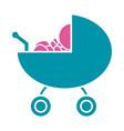 cute baby pictogram cartoon vector image vector image