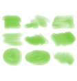 Green textures and patterns vector image vector image