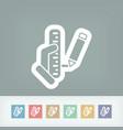 measurement icon vector image
