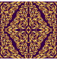 seamless pattern with vintage gold luxury ornament vector image vector image
