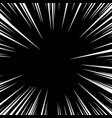 speed line fast motion vector image vector image