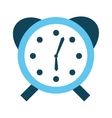 alarm clock watch icon vector image