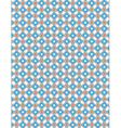 Blue Orange Pattern Background vector image vector image