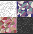 geometric backgrounds of the curves and nodes vector image vector image