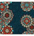 seamless mandalas pattern vector image