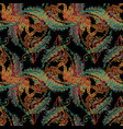 tapestry baroque style abstract seamless pattern vector image vector image