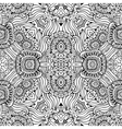 Abstract decorative ethnic floral seamless vector image vector image