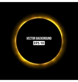 Abstract eclipse background vector image