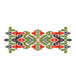 abstract ethnic style vector image vector image