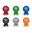 Best price labels vector image vector image