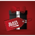 Black Friday design vector image vector image
