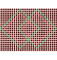 brown mosaic - seamless wallpaper vector image vector image