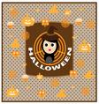 Cute halloween vector image
