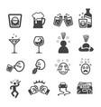 drunken icon vector image vector image
