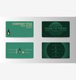 unique business card vector image vector image