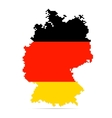 Creative pixel Germany map vector image