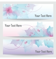Abstract design banners vector image vector image