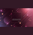 abstract geometric shapes on purple background vector image vector image