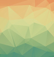Abstract vintage geometric background vector image vector image