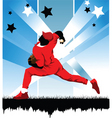 baseball star vector image vector image