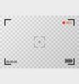 camera view viewing images visual screen focusing vector image