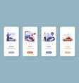 car sharing app mobile application taxi order vector image