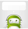 Cute Robot vector image vector image