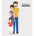 family desing vector image