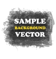 Grunge background and text vector image vector image