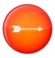 Long arrow icon flat style vector image vector image