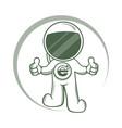 modern astronaut logo