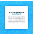 Paper over Office Business Line Art Background vector image vector image