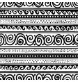 abstract vintage border seamless pattern for your vector image vector image