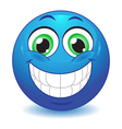 Big smile vector image vector image