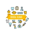 Dental Clinic Concept vector image
