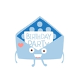 Invitation Mail Envelop Children Birthday Party vector image vector image