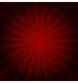 Red background texture with sunburst vector image