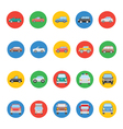 Transports Icons 1 vector image vector image