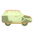 car air ventilation icon cartoon style