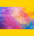 abstract background with polygonal shapes vector image vector image