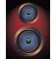 Audio Speaker Icon3 vector image vector image