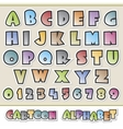 Cartoon Alphabet vector image vector image
