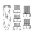 Hair clipper machine Color vector image vector image