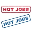 Hot Jobs Rubber Stamps vector image vector image