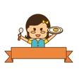 kids food nutrition design vector image vector image